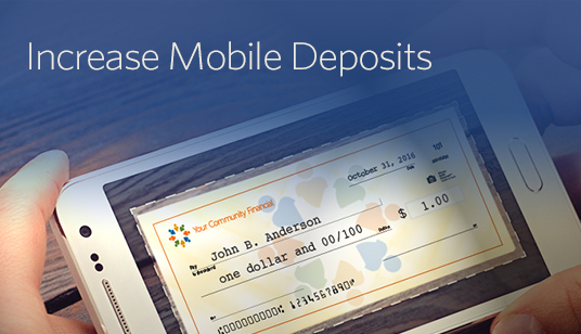 Increase Mobile Deposits