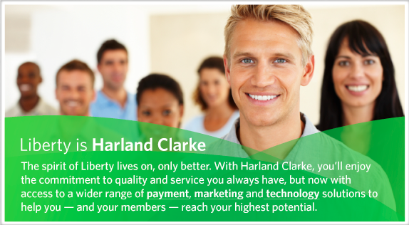 Liberty is Harland Clarke