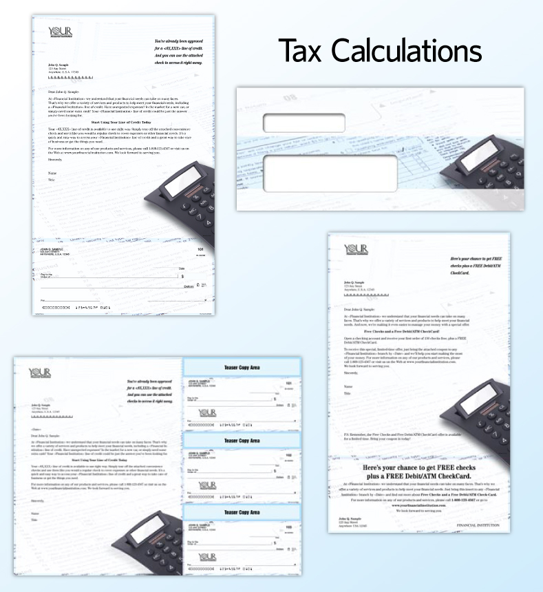 Tax Time | Harland Clarke