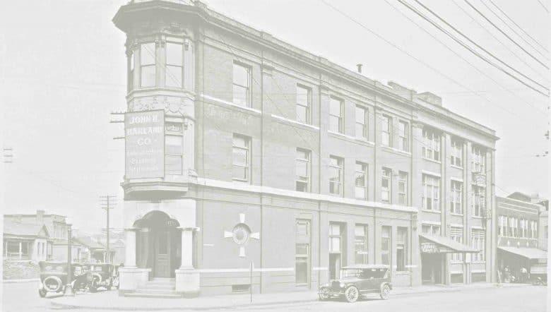 john h harland building 1940s